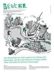 Der Reuterkiez ist nicht zuletzt eine Heimat für ... - Reuter Quartier