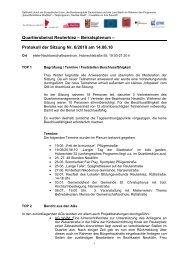 Protokoll der Sitzung Nr. 6/2010 am 14.06.10 - Reuter Quartier