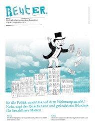 Ist die Politik machtlos auf dem Wohnungsmarkt ... - Reuter Quartier