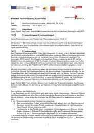 Protokoll Plenumssitzung Quartiersrat - Reuter Quartier