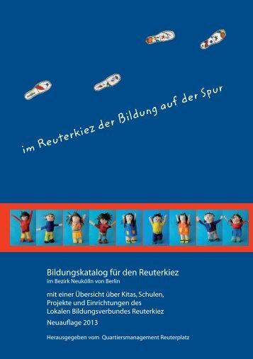 Bildungskatalog in Arbeit.indd - Reuter Quartier