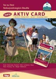 AKTIV CARD - Reutte.com
