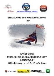 Tiroler Schülermeisterschaft Landescup - Reutte