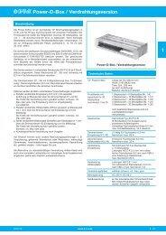 Power-D-Box / Verdrahtungsversion 1  - ETA