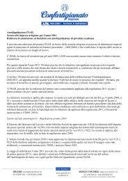 Autoliquidazione INAIL Sconto alle imprese artigiane per l'anno ...