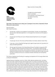 english version of the open letter - Apartheid Debt and Reparations ...
