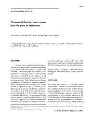 Neuromodulación: una nueva función para la histamina. - Revista ...