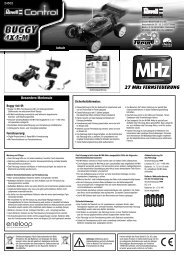 Buggy 4x4-M / MHz RTR - Revell Control