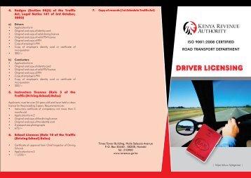 Drivers Licensing - Kenya Revenue Authority