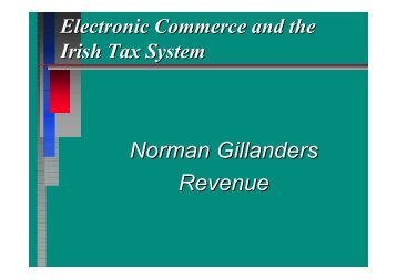 Tax and E-Commerce