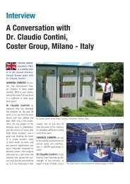 Interview A Conversation with Dr. Claudio Contini, Coster Group ...