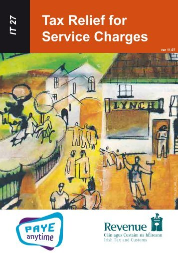 IT27 - Tax Relief for Service Charges - Revenue Commissioners