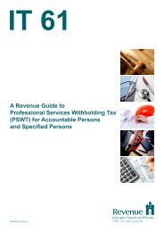 Guide to Professional Services Withholding Tax - Revenue ...
