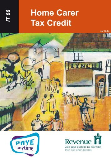 IT66 - Home Carer's Tax Credit - Revenue Commissioners