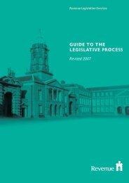 Guide to Legislative Process - Revenue Commissioners