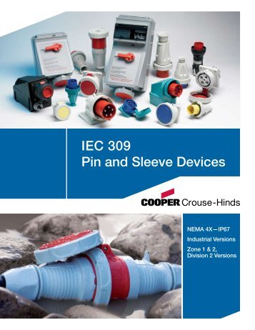 IEC 309 Pin and Sleeve Devices - Revere Electric