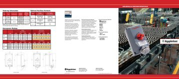 Appleton Switched Receptacle Brochure.pdf - Revere Electric
