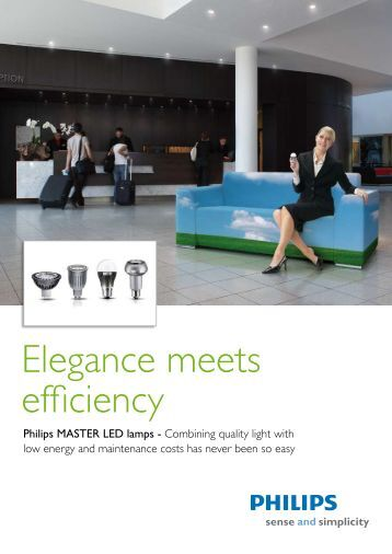 Philips Master LED (pdf) - Revere Electric