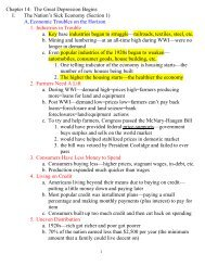 9B-Chapter 14 Notes-The Great Depression Begins - Revere Local ...