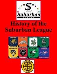 History of the Suburban League - Revere Local Schools