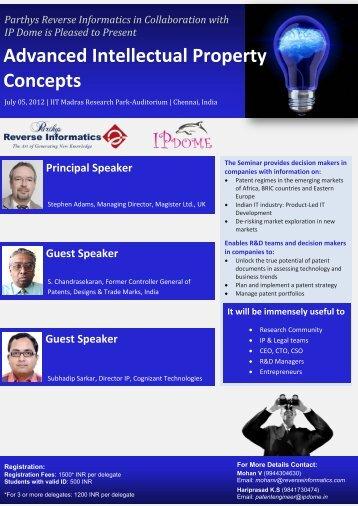 Advanced Intellectual Property Concepts - Parthys Reverse Informatics