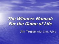 The Winners Manual: For the Game of Life - Revere Local Schools