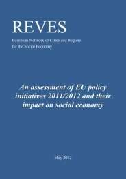 An assessment of EU policy initiatives 2011/2012 ... - Reves Network