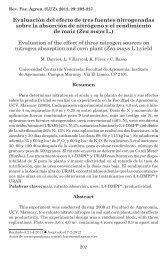 Evaluación del efecto de tres fuentes nitrogenadas sobre la ...