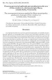 Proceso gerencial aplicado por productores de uva (Vitis vinifera L ...