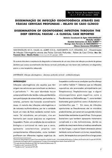 upe/fop - Revista de Cirurgia e Traumatologia Buco-Maxilo-Facial