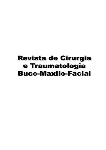 Revista de Cirurgia e Traumatologia Buco-Maxilo-Facial Revista de ...