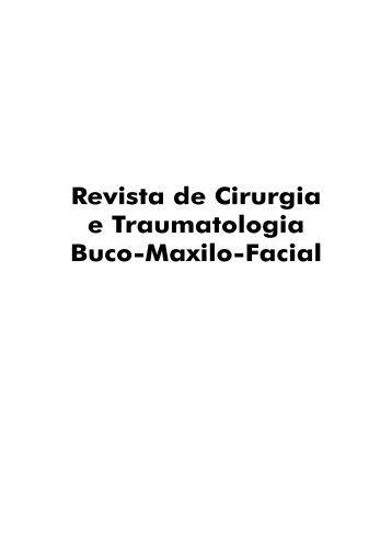 Revista de Cirurgia e Traumatologia Buco-Maxilo-Facial