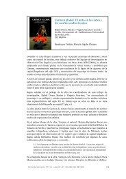 Carmen global. El mito en las artes y los medios audiovisuales