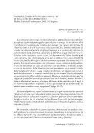 Intermedios. Estudios sobre literatura, teatro y cine Mª Teresa ...