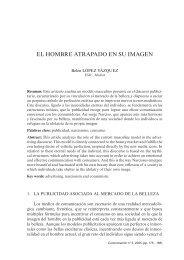 El hombre atrapado en su imagen - COMUNICACIÓN | Revista ...