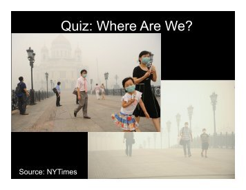 Quiz: Where Are We?