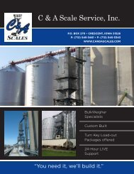 C & A Scale Service, Inc. - LeMar Industries