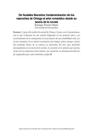 Eikasía Revista de Filosofía. Nº 38 / Mayo 2011 - Eikasia