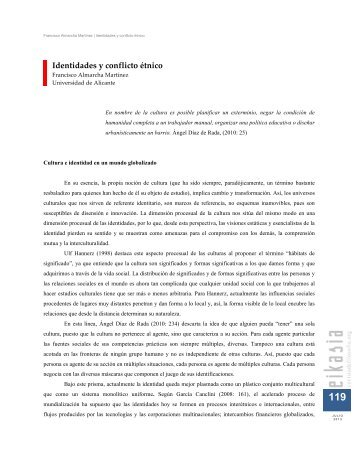 Identidades y conflicto étnico. Eikasia 50 (julio, 2013).