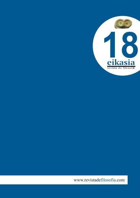 Descargar número completo (4,2 MB) - Eikasia