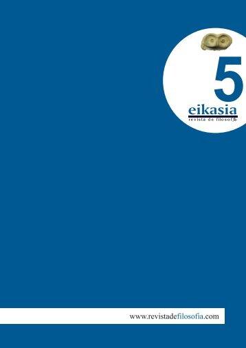 Descargar número completo (4,6 MB) - Eikasia