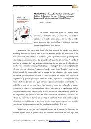 MORENO CASTILLO, R., Panfleto antipedagógico. Prólogo ... - Eikasia
