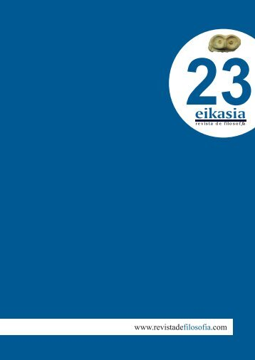 Descargar número completo (4,9 MB) - Eikasia Revista de Filosofía