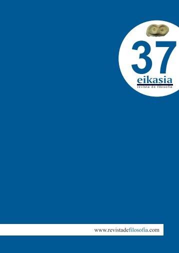 Descargar número completo (3,83 MB) - Eikasia