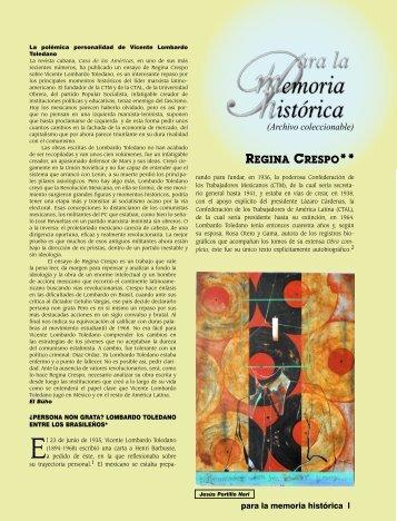 La polémica personalidad de Vicente Lombardo ... - Revista EL BUHO