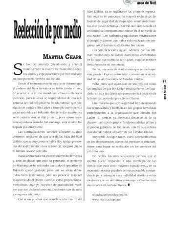 MARTHA CHAPA - Revista EL BUHO