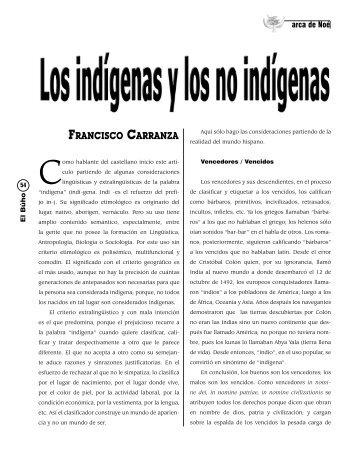 Francisco carranza - Revista EL BUHO