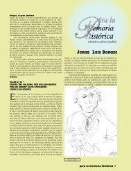 Jorge Luis Borges - Revista EL BUHO