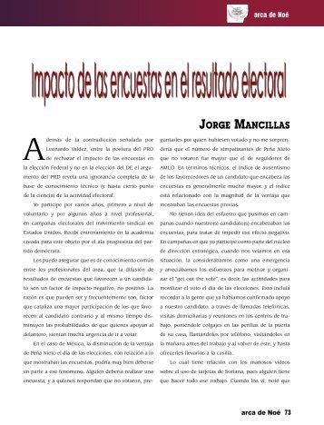 Jorge Mancillas - Revista EL BUHO