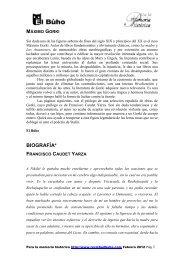máximo gorki - Revista EL BUHO